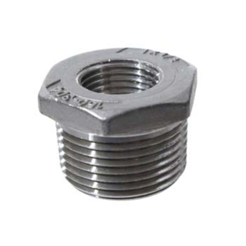 Stainless Bushing - 1/2 in. FPT x 1 in. MPT