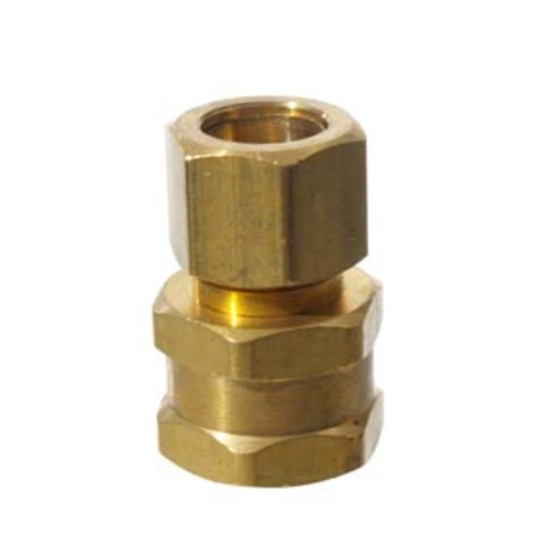 Brass - 1/2 in. Compression x 1/2 in. FPT
