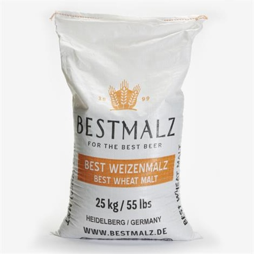 BestMalz Pale Wheat Malt (55 lb Sack)