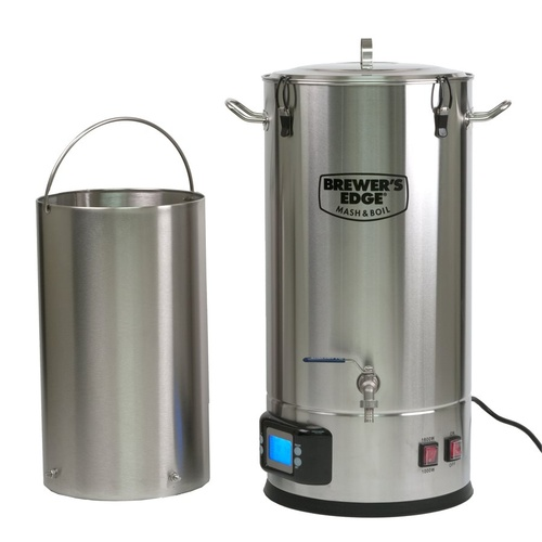 Brewer's Edge® Mash and Boil All Grain Brewing System With Pump - 8G (110V)