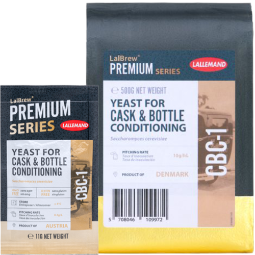 LalBrew® CBC-1 Cask & Bottle Conditioning Yeast - Lallemand