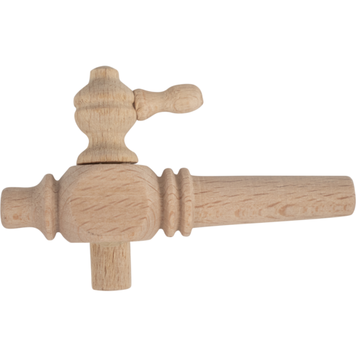 Wood Barrel Spigot - 8 cm (3 in Long)