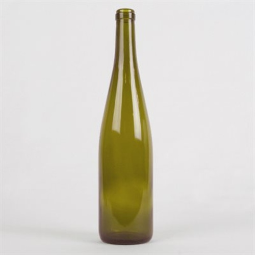 750 mL Antique Green Rhine Wine Bottles - Case of 12