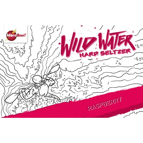 Wild Water Hard Seltzer Recipe Kit - Raspberry