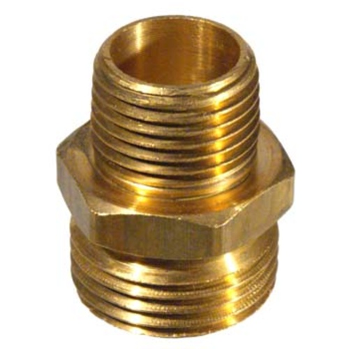 Brass Hose Fittings - Male Hose x 1/2 in. MPT