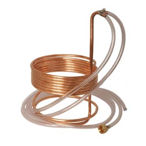 Immersion Wort Chiller (Efficient) - 25 ft. x 3/8 in.