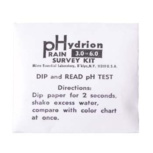 pH Strips - 3.0 to 6.0 (12 Strips)