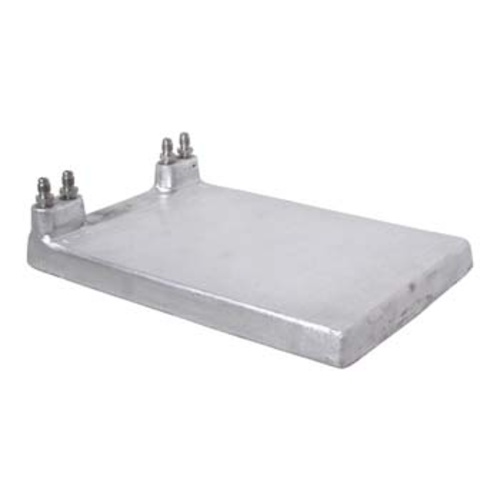 Jockey Box Cold Plate 8x12 in. - 2 Lines