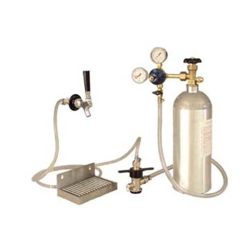 Kegerator Conversion Kit - Stainless Deluxe