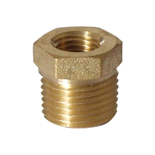 Brass - 1/2 in. MPT x 1/4 in. FPT Bushing