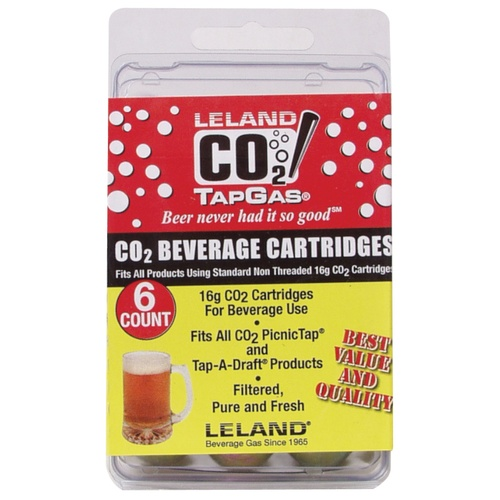 CO2 Cartridge (16g) - 6 Count