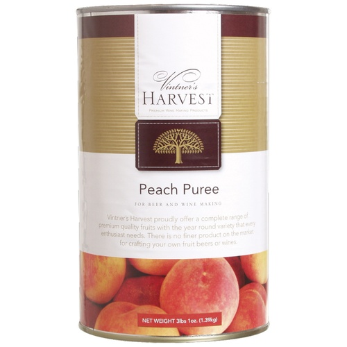 Peach Puree (Vintners Harvest) - 49 oz.