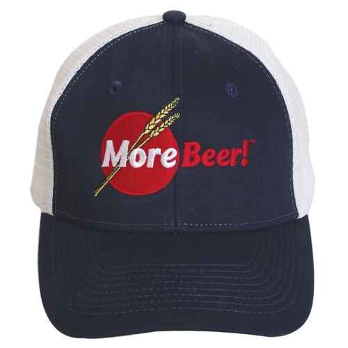 MoreBeer!® Trucker Hat - Blue