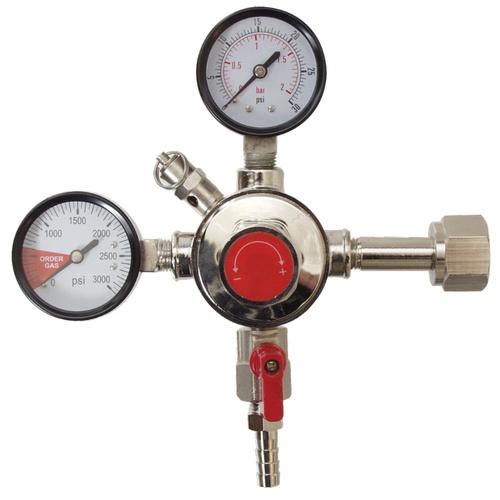 CO2 Regulator (Fermentap) - Dual Gauge