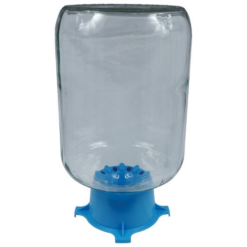 Blue Carboy Drainer
