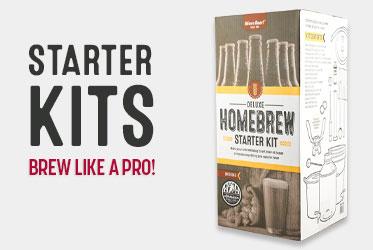 Homebrewing Starter Kits On Sale 20% Off!