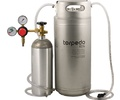 Homebrew Kegging Kit with New 5 gal. Ball Lock Torpedo Keg