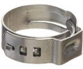 Stepless Hose Clamp - 5/16 in. - 3/8 in. OD Tubing (20 Pack)