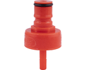Carbonation and Line Cleaning Ball Lock Cap - Plastic