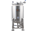 MoreBeer! Pro Brite Tank - 1 bbl With Reactor Cooling Rod and Jacket