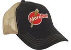 MoreBeer! Trucker Hat - Black and Tan