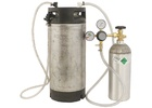 Homebrew Kegging Kit with Converted Ball Lock Keg