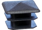 Square Plastic Plug for Bottom Rails of WE220&WE223 Crushers