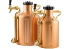 GrowlerWerks UKeg 64 Copper Pressurized Growler - 64 oz.