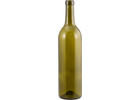 Wine Bottles - 750 mL Antique Green Claret - Punted (Case of 12) - Pallet of 96 Cases