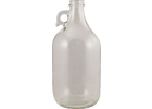 Glass Jar/Bottle - 1/2 gal. Flint Jug with Handle