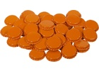 Orange Oxygen Absorbing Bottle Caps