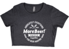 MoreBeer!® Absolutely Everything - Charcoal Women's T-Shirt
