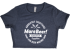 MoreBeer! Absolutely Everything - Midnight Navy Women's T-Shirt