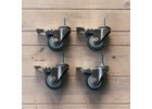 Heavy Duty Casters for Ss BrewTech Unitanks, Chronicals and Brites (Set of 4)