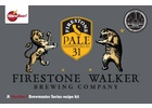 Firestone Walkers Pale 31® Ale - Extract Beer Brewing Kit (5 Gallons)
