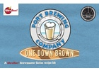 Pizza Ports One Down Brown Ale - Extract Beer Brewing Kit (5 Gallons)