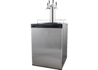 KOMOS® V2 Kegerator with Stainless Steel Faucets