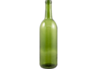750 mL Champagne Green Bordeaux Wine Bottles - Case of 12