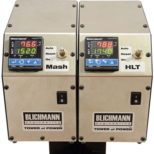 Blichmann Tower of Power - Dual Controller Mounting Plate