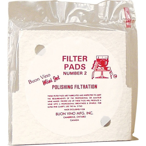 Buon Vino Mini Jet Filter (Fine Pads) - 3 Pack