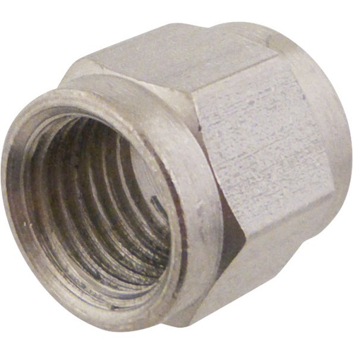 Flare Fitting - 1/4 in. Swivel Nut (Stainless Steel)