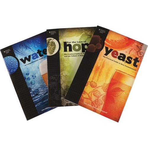 Brewing Elements Book Set - Water, Hops, Yeast (Book)
