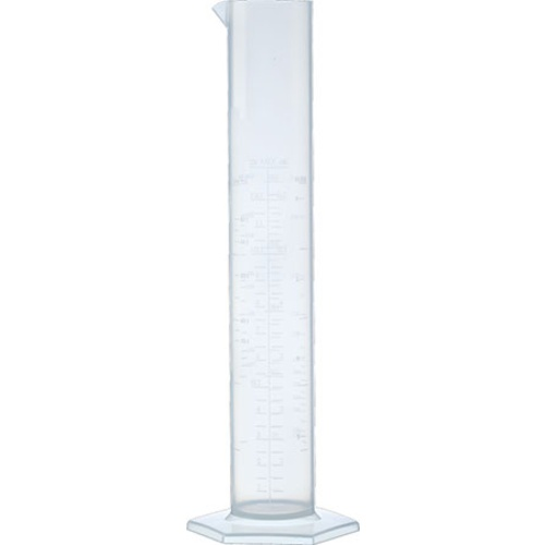 Plastic Graduated Cylinder - 250 mL