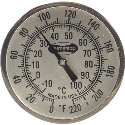 Brewing Thermometer - 2 in. x 12 in.
