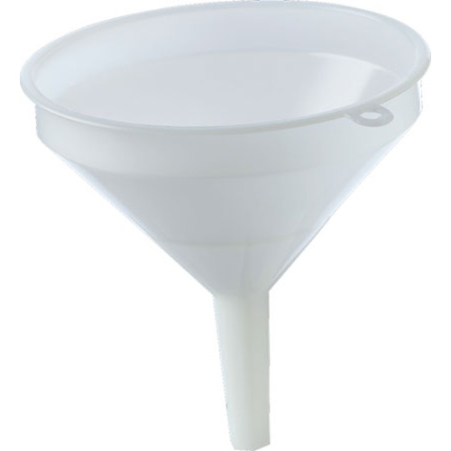 Funnel - 15 cm (6 in) - White Plastic