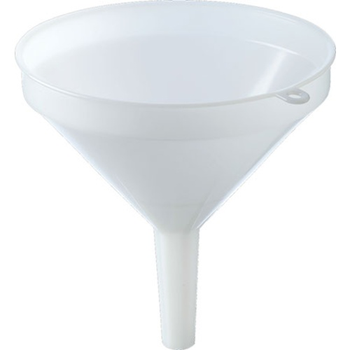 Funnel - 25 cm (10 in) - White Plastic