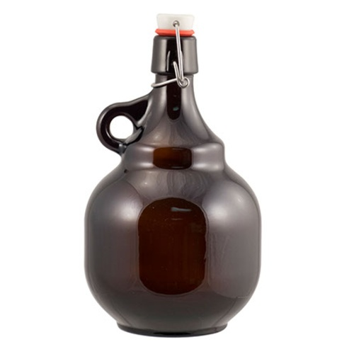 Amber Flip Top Palla Growler - 2 L (Case of 6)