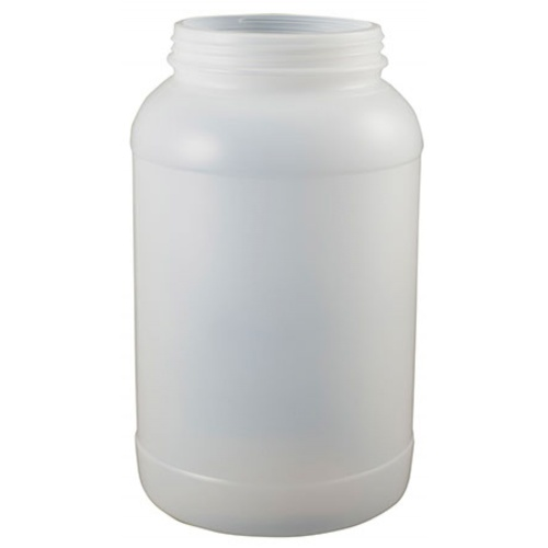 1 Gallon Plastic Jar - 110 mm Wide Mouth - No Lid