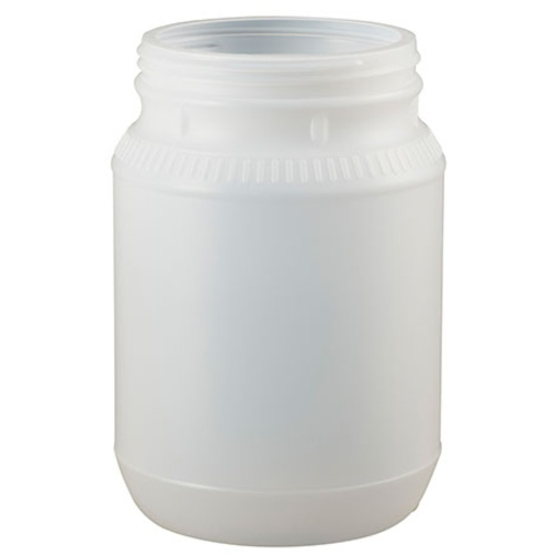 1/2 Gallon Plastic Jar - 110 mm Wide Mouth - No Lid