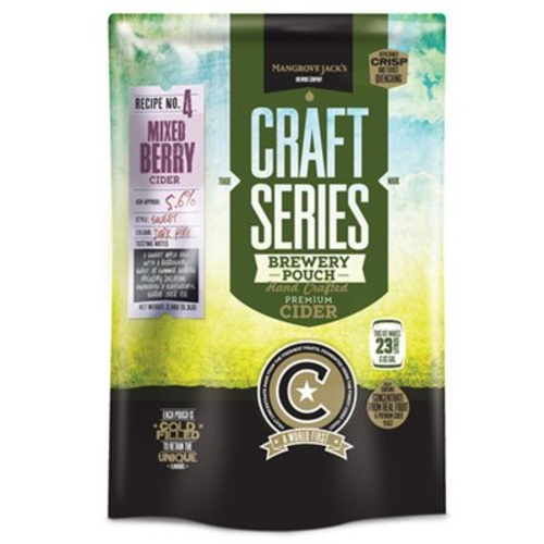 Mangrove Jacks British Series Mixed Berry Cider Pouch 2.4 kg